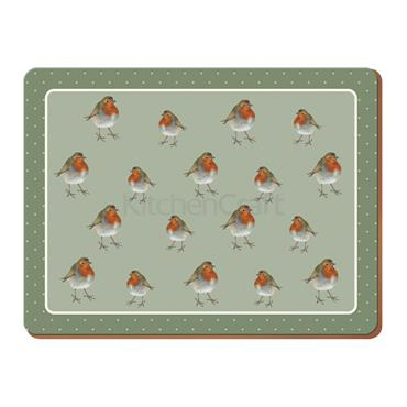 Robin Premium Large Placemat (Set Of 4)