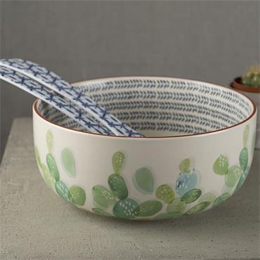KitchenCraft Mikasa Drift Salad Bowl
