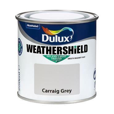 Dulux Weathershield Carraig Grey 250ml