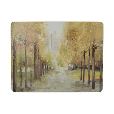 Creative Tops Central Park Placemats 6pk