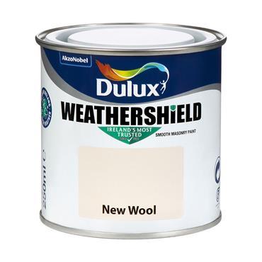 Dulux Weathershield New Wool 250ml