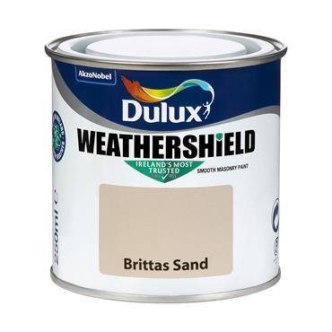 Dulux Weathershield Brittas Sand 250ml