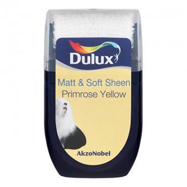 Dulux Roller Tester Primrose Yellow 30ml