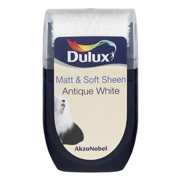 Dulux Roller Tester Antique White 30ml