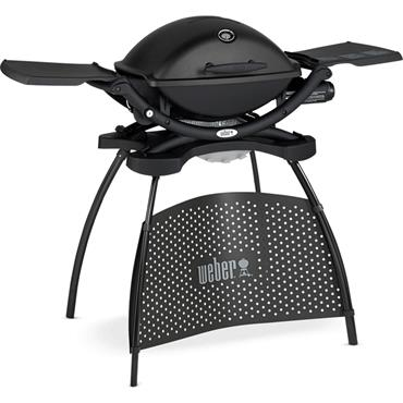 Weber Q2200 Gas Barbecue & Stand Black
