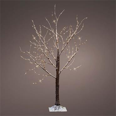 1.5m Indoor & Outdoor Christmas Deco Tree With 400 Warm White LED Lights