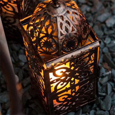 La Hacienda Menara Medium Lantern