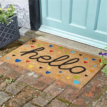 Smart Garden Hearty Hello Decoir Mat 75x45cm