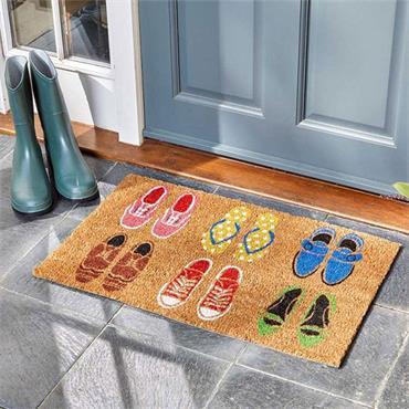 Smart Garden Shoe-aholic Decoir Mat 45x75cm