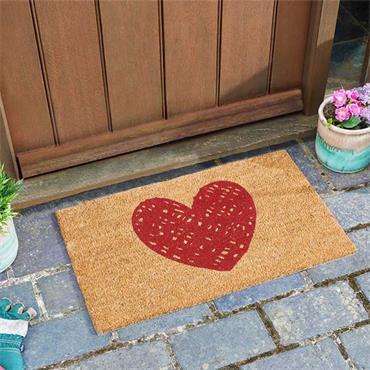 Smart Garden Heart Decoir Mat 45x75cm