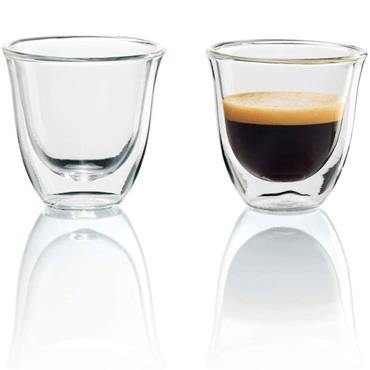 Delonghi Espresso Thermo Glasses 2pk
