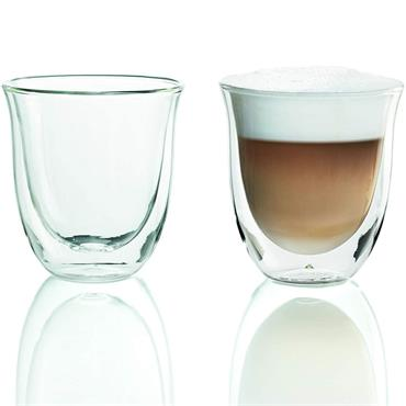 Delonghi Cappuccino Thermo Glasses 2pk