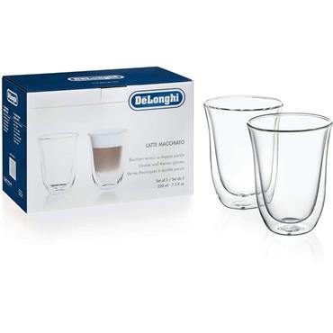 Delonghi 2 x 220ml Thermo Glasses