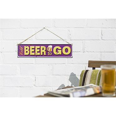La Hacienda Beer To Go Sign