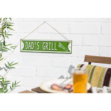 La Hacienda Dads Grill Sign