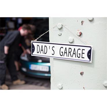 La Hacienda Dads Garage Sign