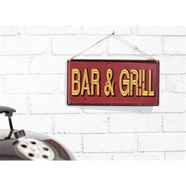 La Hacienda Bar & Grill Sign