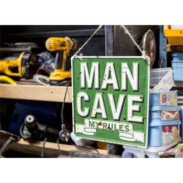 La Hacienda Man Cave My Rules Sign