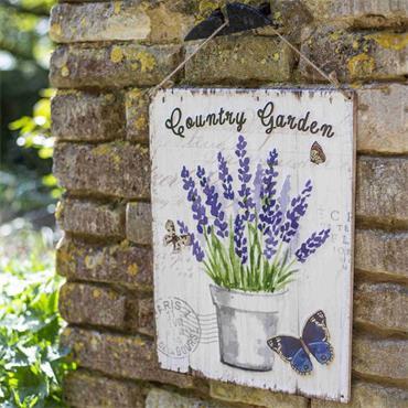 La Hacienda Country Garden Sign