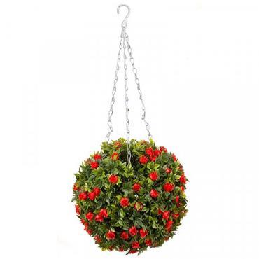 Smart Garden Topiary Red Rose Ball 30cm
