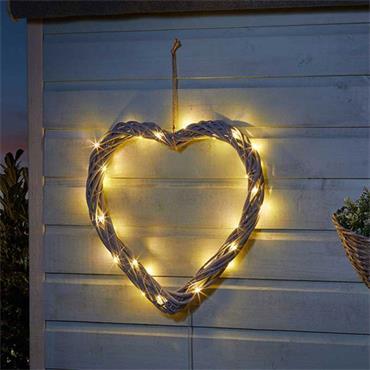Smart Garden 40cm Solar In-lit Firefly Heart