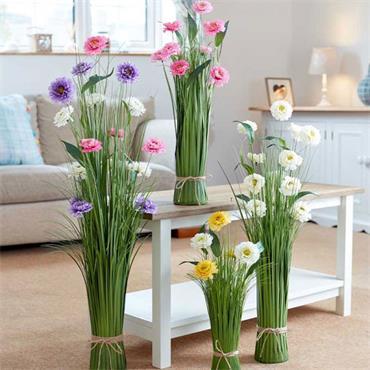 Smart Garden Faux Bouquet Pink Paradise 55cm