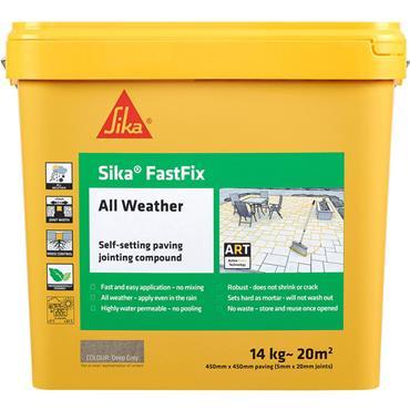 Sika Fastfix All Weather Deep Grey 14Kg