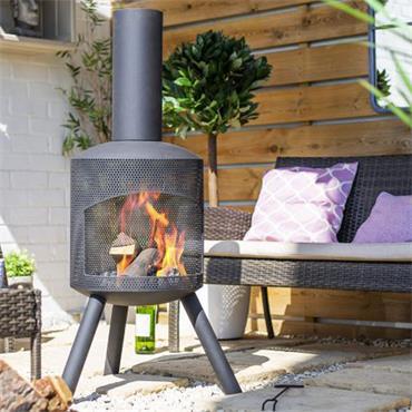 La Hacienda Santana Perforated Fireplace