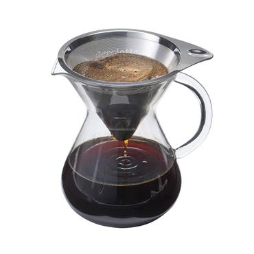 Drip Coffee Brewer With Microfilter