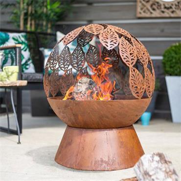 La Hacienda Leaves Fire Globe