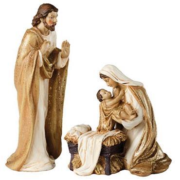 Kaemingk Nativity Set Maria With Jesus & Joseph