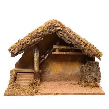 Kaemingk 39cm Nativity House