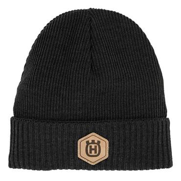 Husqvarna Beanie Hat Winter Wool Olive Green
