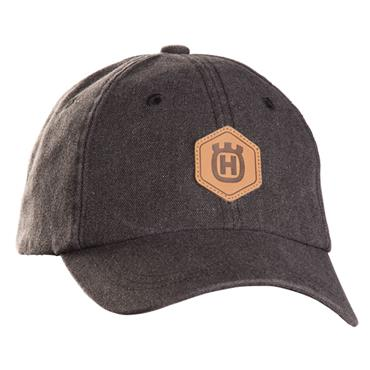 Husqvarna Granite Baseball Hat Leather Patch