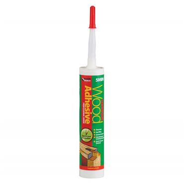 Everbuild Lumberjack 5 Min Wood Adhesive 310ml