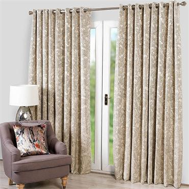 Scatter Box Marine Silver Ready Made Curtains