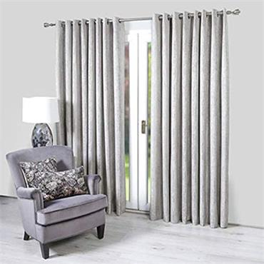 Scatter Box Valencia Graphite Ready Made Curtains
