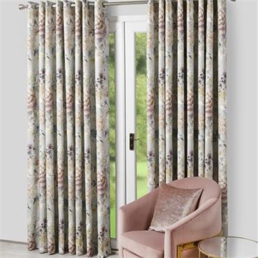 Scatter Box Eden Dove Ready Made Curtains