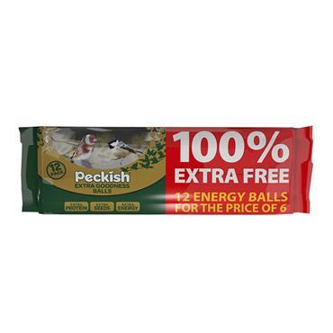 Peckish Extra Goodness Energy Ball 12pk