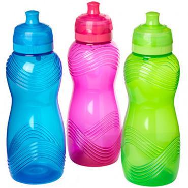 Sistema Assorted Twist n Sip Wave Bottle 600ml