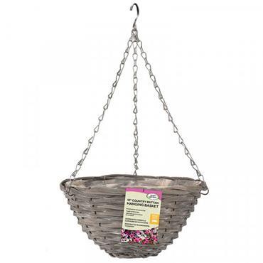 "Smart Garden 12"" Sable Willow Basket"
