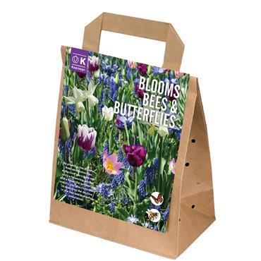 Kapiteyn Blooms Bees & Butterflies Blue Shades Bulbs Spring Flowering 25pk