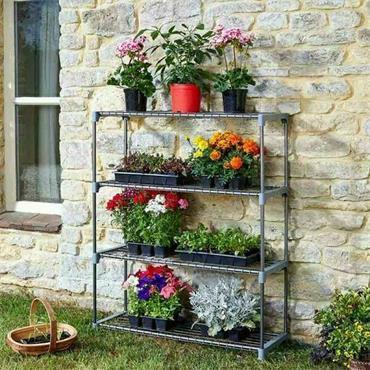Smart Garden 4 Tier GroZone Shelving