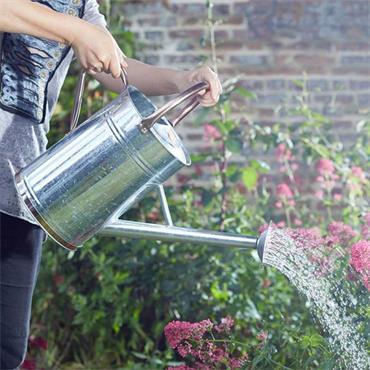 Smart Garden Watering Can Galvanised Steel 9L