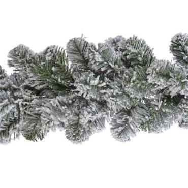 Snowy Imperial Garland 270cm