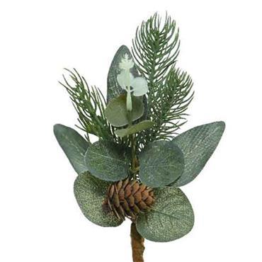Kaemingk Eucalyptus Pinecones Green Pick