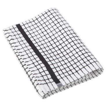 Lamont Tea Towel Poli Dri Cotton Black