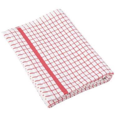 Lamont Poli Dri Tea Towel Cotton Red