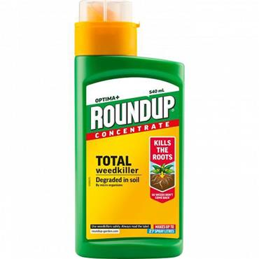 RoundUp Optima+ Concentrate Weedkiller 540ml