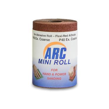 Flexi Red Oxide Roll P40 Grit 5 Metre